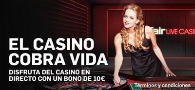 casino en directo de betfair casino